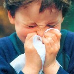 nátha beteg fiú influenza