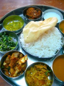 Indiai vegetáriánus ételek